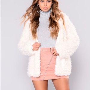 Fashion nova fluffy coat